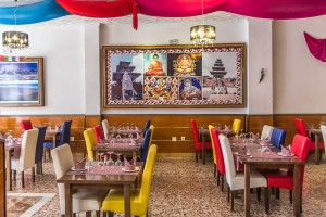 Interior del Restaurante The Kathmandu