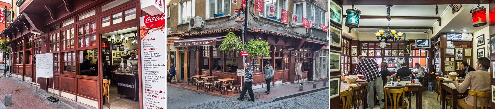 El restaurante Çelebi, en Arnavutköy